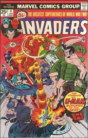 Invaders (1975) 4-A by Marvel
