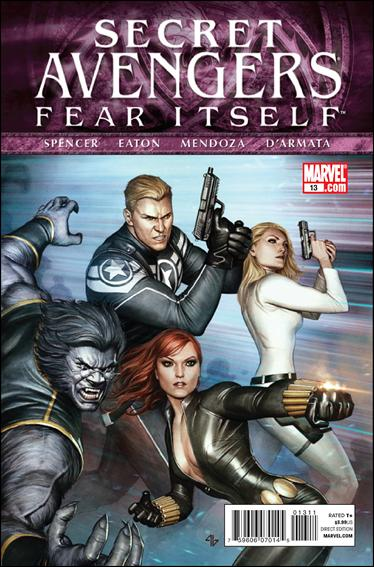 Secret Avengers (2010) 13-A by Marvel