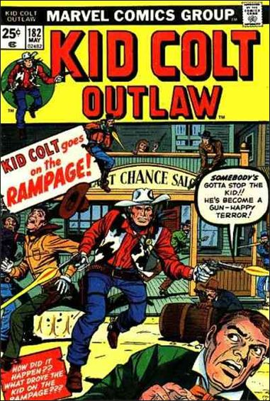Kid Colt Outlaw  182-A by Marvel