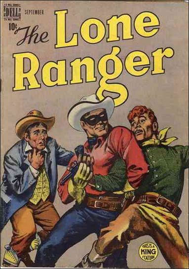 Lone Ranger (1948) 15-A by Dell