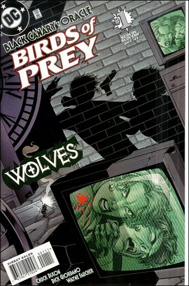 Birds of Prey: Wolves 1-A by DC