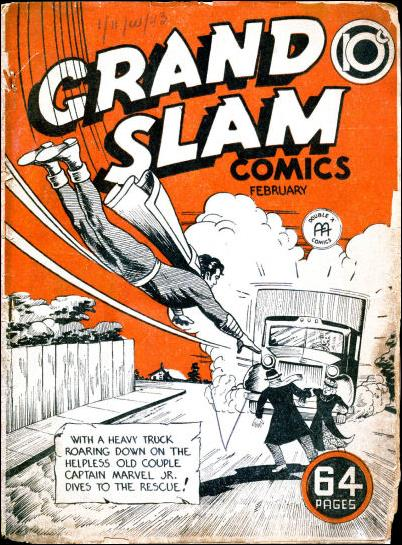 Grand Slam Comics 15-A by Anglo-American Publishing