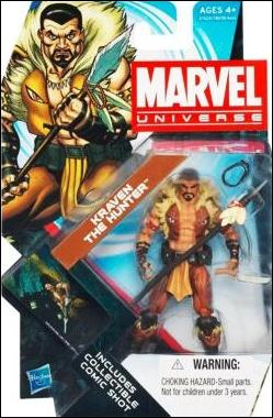Marvel Universe (Series 4) Kraven the Hunter by Hasbro