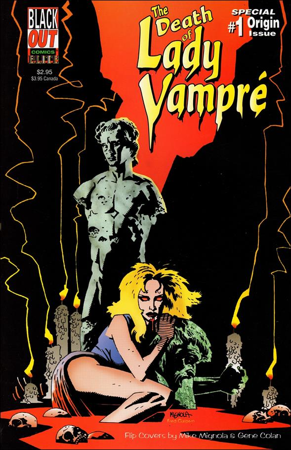 Death of Lady Vampre 1-A by Blackout Comics