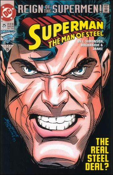 Superman: The Man of Steel 25-A by DC