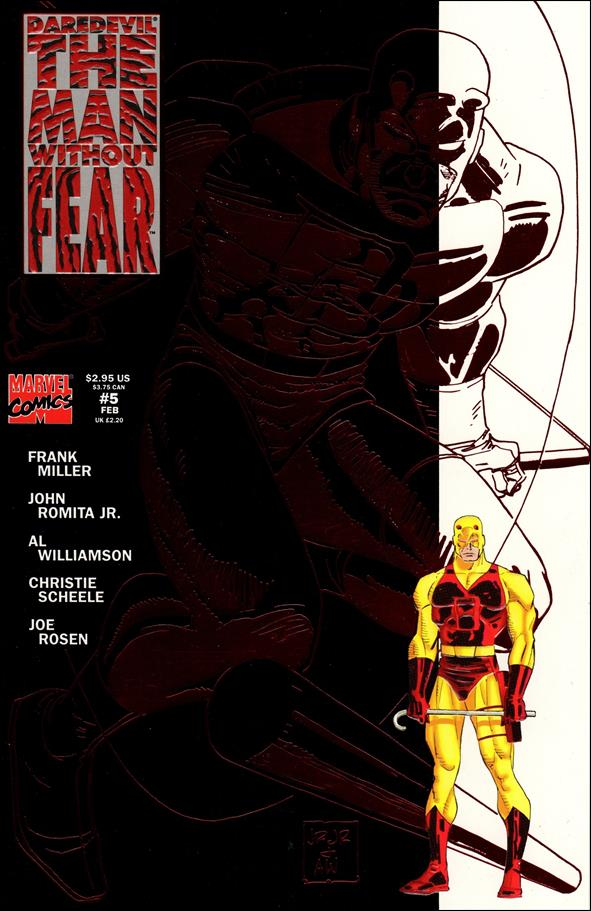 Daredevil The Man Without Fear 5-A by Marvel
