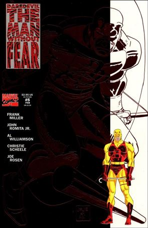 Daredevil The Man Without Fear 5-A