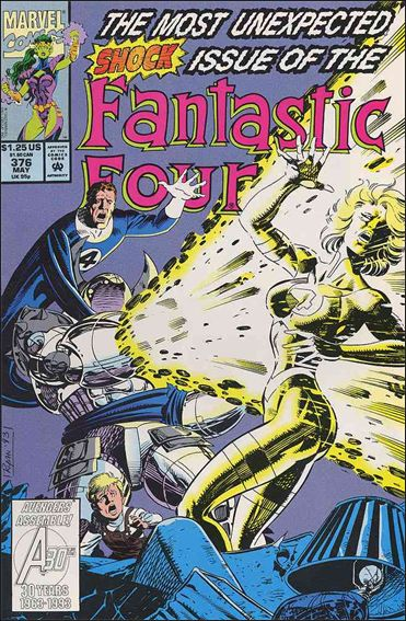 Fantastic Four (1961) 376-A by Marvel