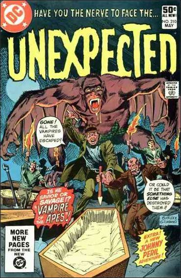 Unexpected (1968) 210-A by DC