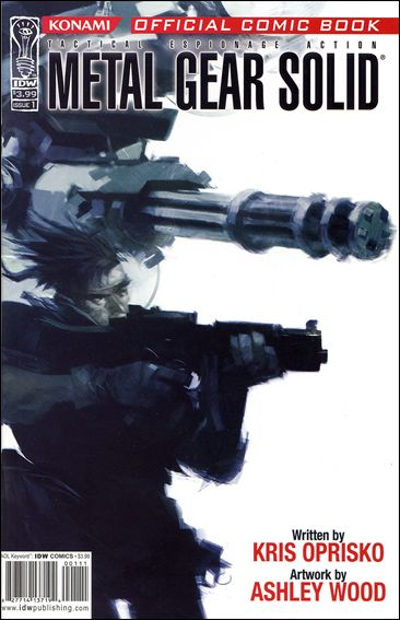Metal Gear Solid 1-A by IDW