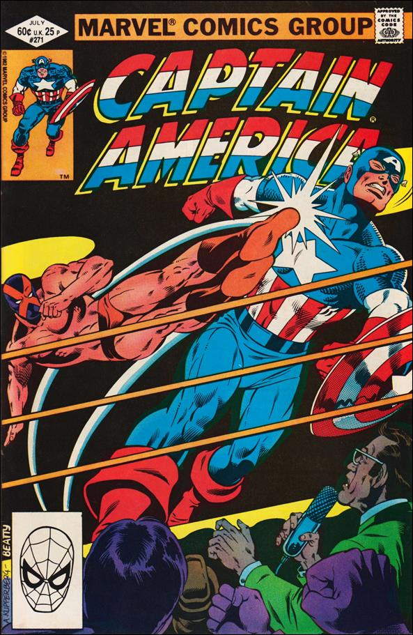 Captain America (1968) 271-A by Marvel