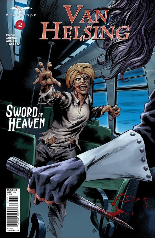 Van Helsing: Sword of Heaven 2-D by Zenescope Entertainment