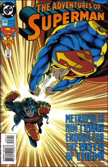 Adventures of Superman (1987) 506-A by DC