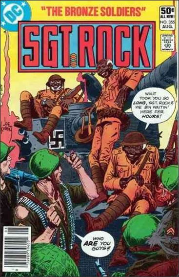 Sgt. Rock (1977) 355-A by DC