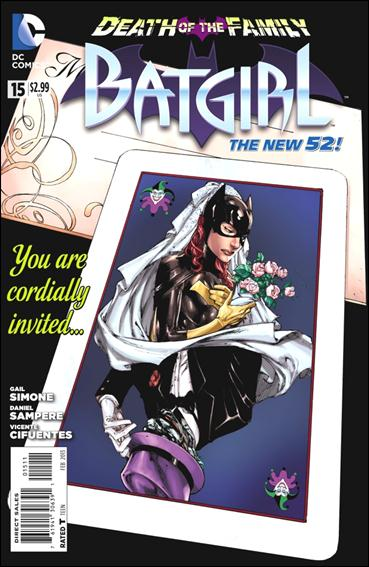 Batgirl (2011) 15-A by DC