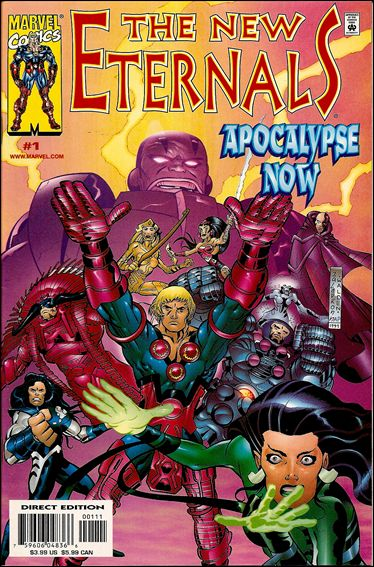New Eternals: Apocalypse Now 1-A by Marvel