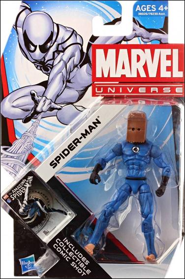 Marvel Universe (Series 4) Spider-Man (Bombastic Bag Man) by Hasbro