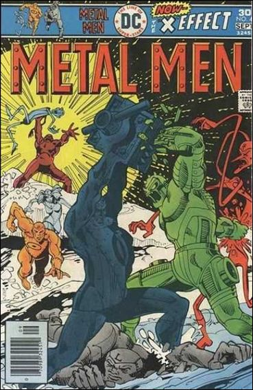 Metal Men (1963) 47-A by DC