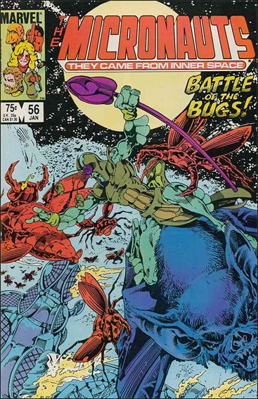 Micronauts (1979) 56-A by Marvel