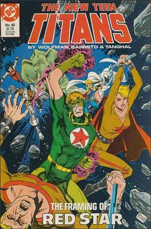 New Teen Titans (1984) 49-A