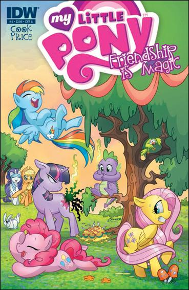 My Little Pony: Friendship is Magic 4-A by IDW