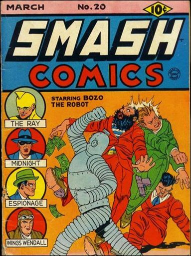 Smash Comics (1939) 20-A by Quality