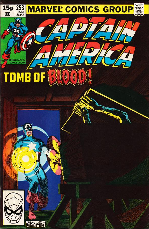 Captain America (1968) 253-B by Marvel