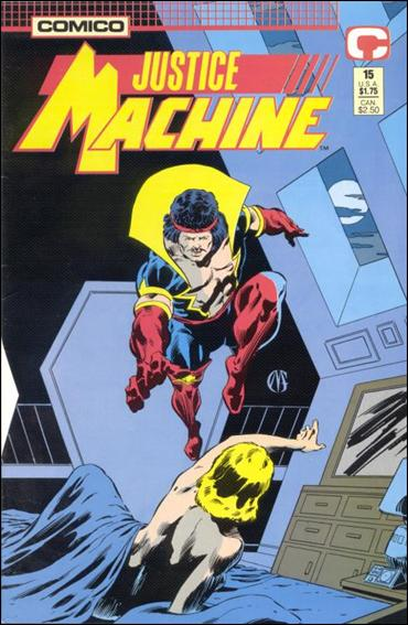 Justice Machine (1987) 15-A by Comico