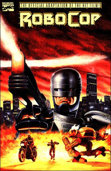 Robocop  Movie Adaptation  1-A by Marvel