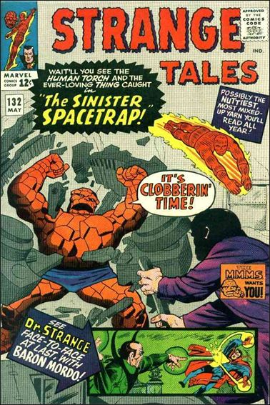 Strange Tales (1951) 132-A by Marvel