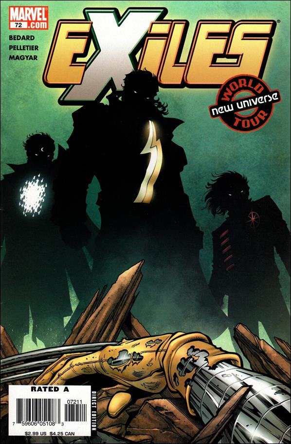 Exiles (2001) 72-A by Marvel