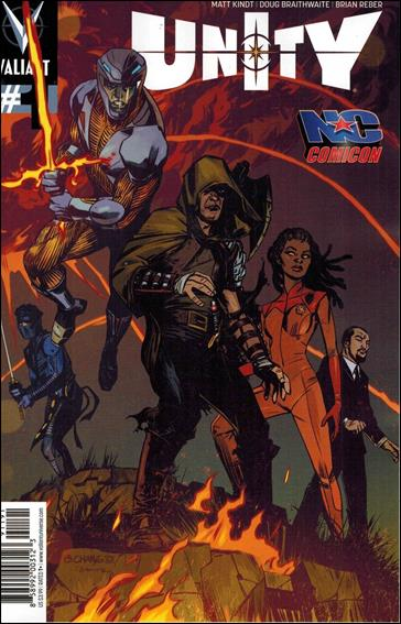 Unity (2013) 1-Q by Valiant Entertainment