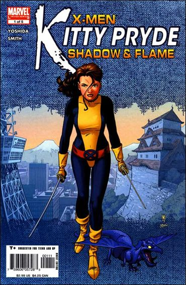 X-Men: Kitty Pryde - Shadow & Flame 1-A by Marvel