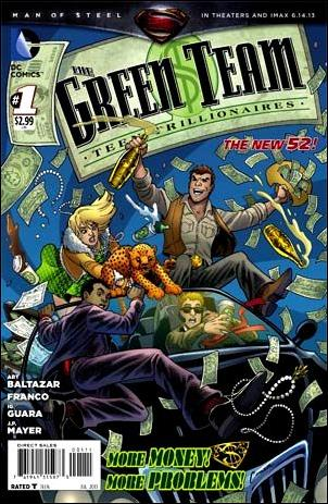 Green Team: Teen Trillionaires 1-A by DC