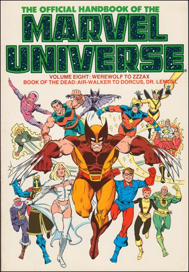 Official Handbook of the Marvel Universe 8-B by Marvel