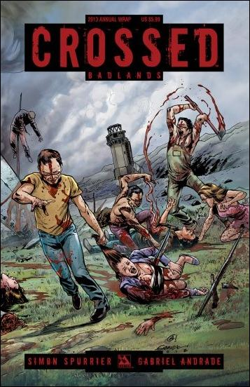 Crossed Annual 2013-B by Avatar Press