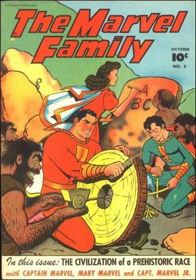 Marvel Family 5-A by Fawcett