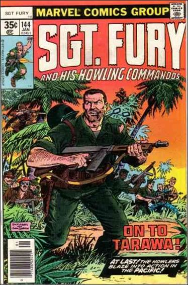 Sgt. Fury and His Howling Commandos 144-A by Marvel