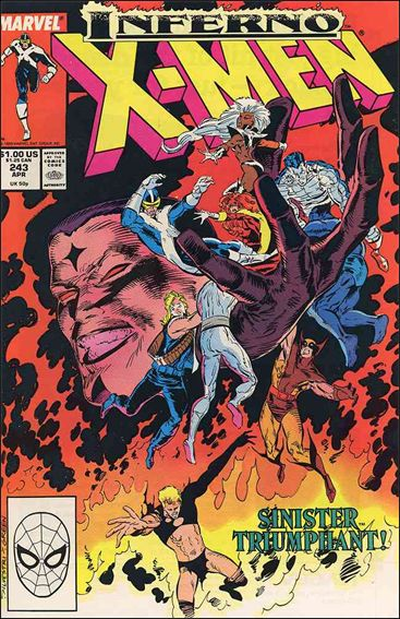 Uncanny X-Men (1981) 243-A by Marvel