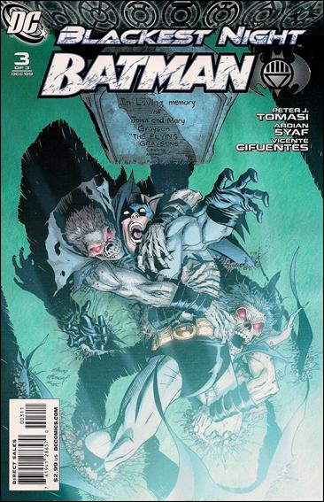Blackest Night: Batman 3-A by DC