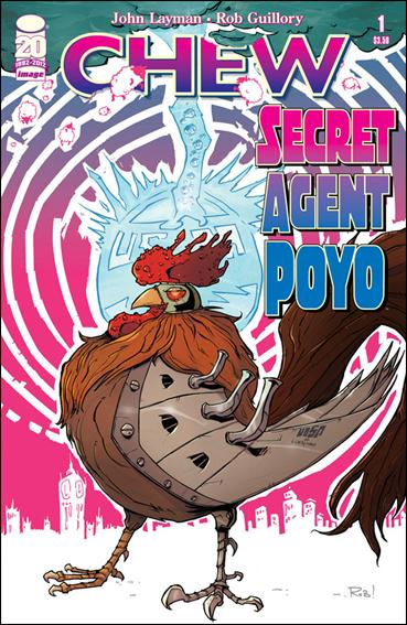 Chew: Secret Agent Poyo 1-A by Image