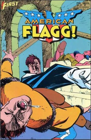American Flagg! (1983) 37-A by First