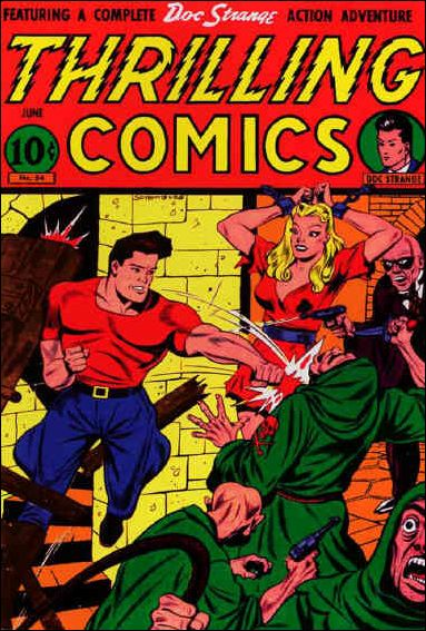 Thrilling Comics (1940) 54-A by Standard
