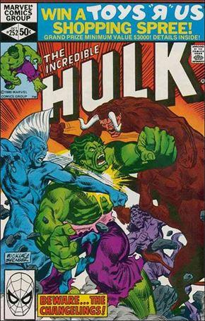 Incredible Hulk (1968) 252-A