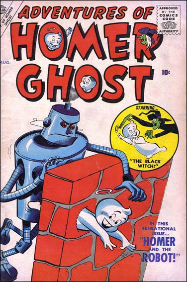 Adventures of Homer Ghost 2-A by Atlas