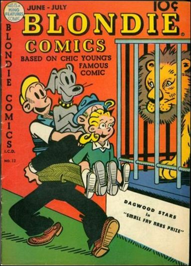 Blondie Comics (1947) 12-A by David McKay