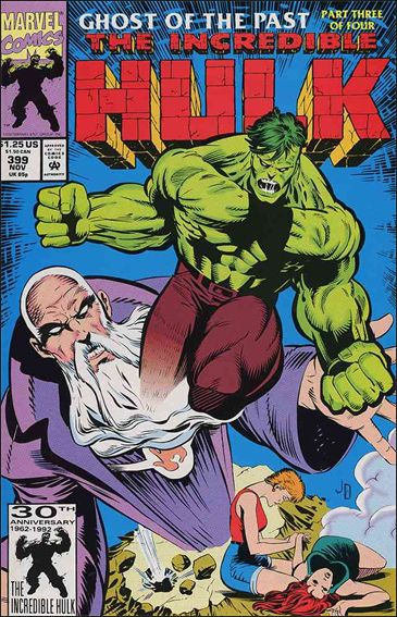 Incredible Hulk (1968) 399-A by Marvel