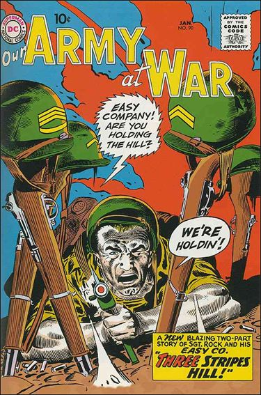 Our Army at War (1952) 90-A by DC