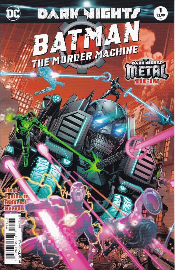 Batman: The Murder Machine 1-C by DC