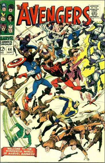 Avengers (1963) 44-A by Marvel